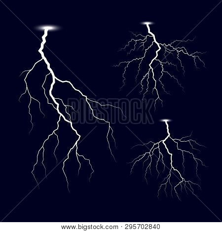 lightning thunder vector photo free trial bigstock lightning thunder vector photo free