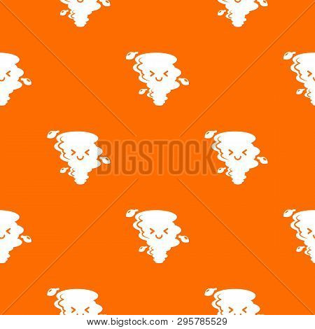 Tornado Pattern Vector Orange For Any Web Design Best