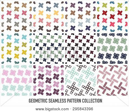 Colorful Seamless Pattern Vector Collection