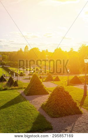 View Of One Of The Oldest Botanical Gardens In The World - The Garden Of Linnaeus, Which Is Located