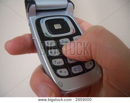 Making A Cellphone Call
