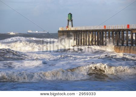 Storm At Whitby