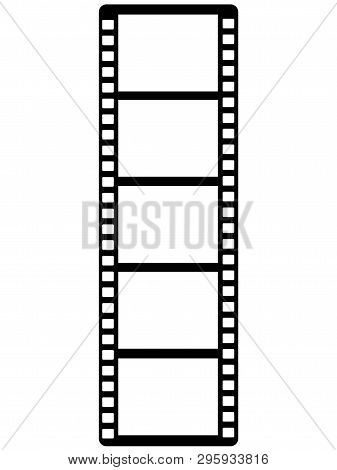 Film - Photo Frame. Cellulose Film. Photo Film - Decor For Registration Of Photos And Storyboards. F