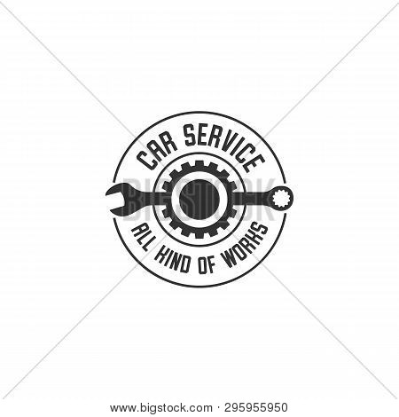 Wheel Repair Service. Tire Storage Company Sign. Tire Logo.wheel Icon. Car Repair Service, Auto, Bur