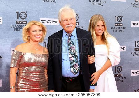 LOS ANGELES - APR 11:  Guest, Ted Turner, grandaughter at the 2019 TCM Classic Film Festival Gala -