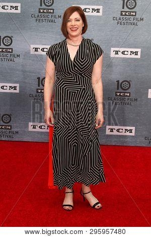 LOS ANGELES - APR 11:  Genevieve McGillicuddy at the 2019 TCM Classic Film Festival Gala -