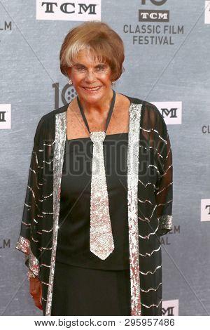 LOS ANGELES - APR 11:  Sara Karloff at the 2019 TCM Classic Film Festival Gala -