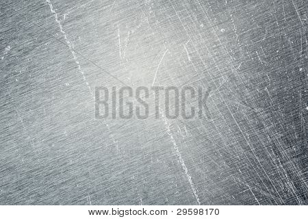 scratching an old metal background texture