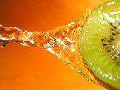 kiwi fruit poster