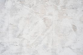 Abstract Old Grungy Texture, Grey Concrete Vintage Wall Background. Cracked White Concrete Wall Text