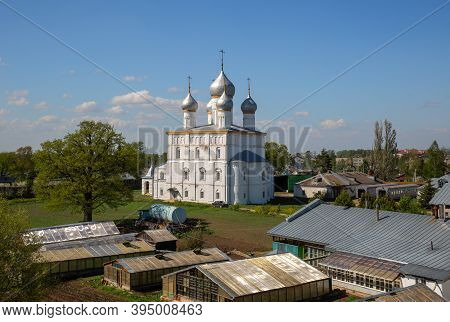 Spaso-yakovlevsky Monastery. Church Of The Transfiguration Of The Savior And The Household Yard Of T
