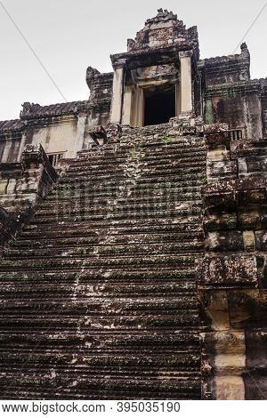 tower of Angkor Wat, Siem Reap, Cambodia