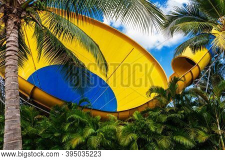 funnel water attraction in the tropics