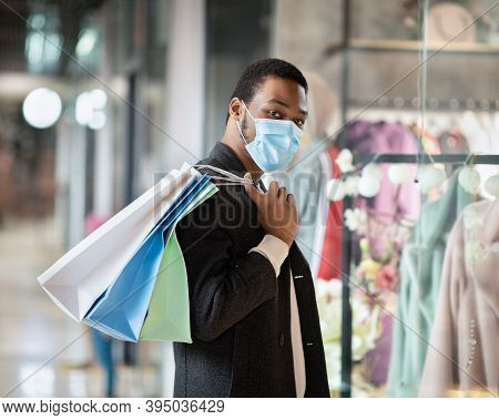 Time To Shop At Black Friday And Seasonal Sales Ahead Of Holidays During Covid-19 Pandemic. Young Af