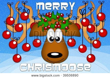 Merry Chrismoose