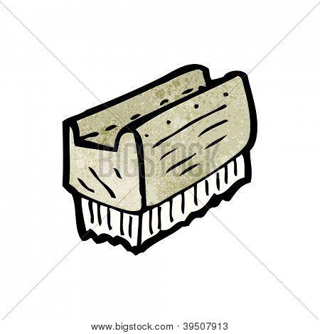 cartoon nail brush