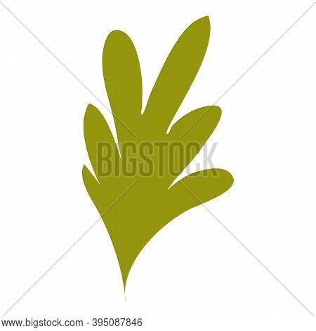 Farm Parsley Leaf Icon. Cartoon And Flat Of Farm Parsley Leaf Vector Icon For Web Design Isolated On