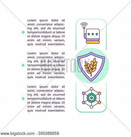 Agricultural Productivity Concept Icon With Text. Crop Yield Protection. Harvest Control. Ppt Page V