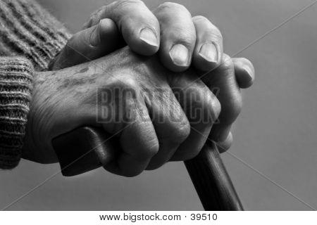 Moe handen