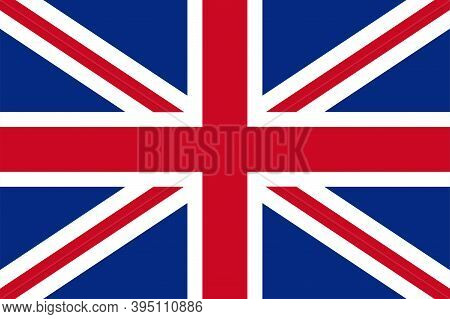 Great Britain Flag. Flag Of England , Vector Icon. United Kingdom. Flag Of Great Britain.