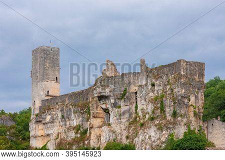 Castle Gavaudun in Lot-et-Garonne, Aquitaine, France