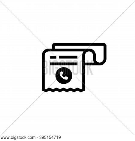 Phone Bill Receipt Icon. Invoice Icon. Cashier Receipt Icon. Hand Holding A Receipt Bill. Pay Bill I