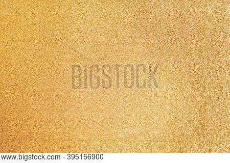 Gold glitter textured background  wallpaper