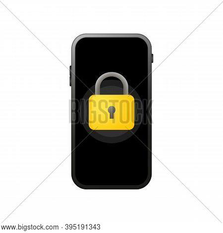 Lock Smartphone Icon. Secure Code. Element Of Cyber Security Icon For Mobile Concept And Web Apps. L