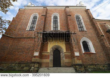 Drohobych, Ukraine - October 23, 2020: Church Of St. Bartholomew