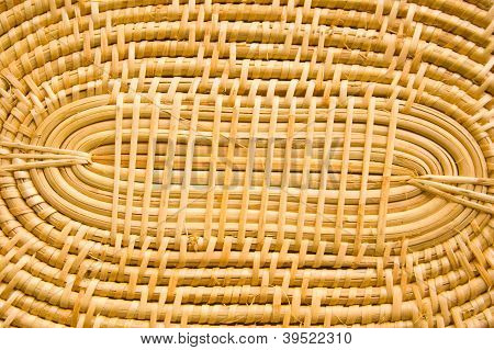 Bamboo weave Pattern.