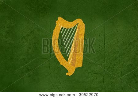 Official province of Leinster flag in Ireland