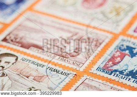 Put Stamp On International Mail