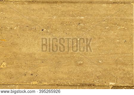 Sandstone Tile Background. Closeup On A Sandstone Surface In Extreme Detail