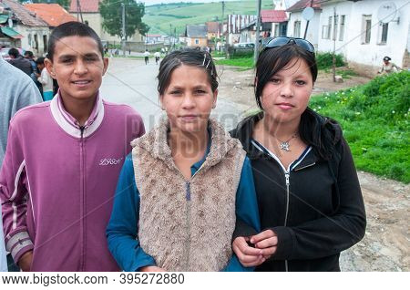 5/16/2018. Lomnicka, Slovakia. Roma Community In The Heart Of Slovakia, Living In Horrible Condition