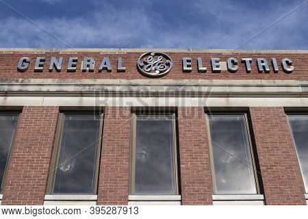 Ft. Wayne - Circa November 2020: General Electric Lighting Factory. Financial Troubles Have Forced G