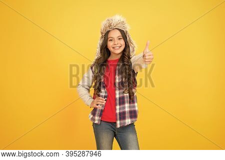 No Classes Scheduled This Week. Winter Break. Course Selection Period. Kid Girl Wear Hat With Ear Fl