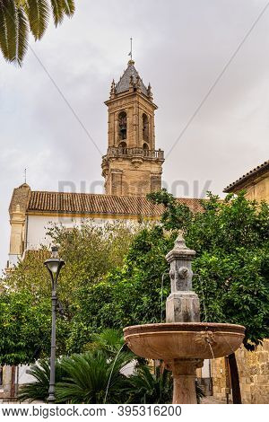 Church Of St Andrew, Iglesia De San Andres In Cordoba, Andalusia In Spain.