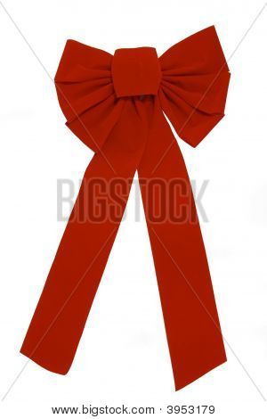 Huge Red Bow