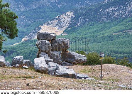 Ancient Lycian City Of Arykanda.