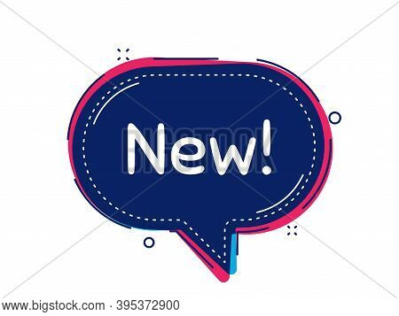 New Symbol. Thought Bubble Vector Banner. Special Offer Sign. New Arrival. Dialogue Or Thought Speec