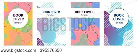 Abstract Composition. Text Frame Surface. A4 Brochure Cover Design. Title Sheet Model Set. Polygonal