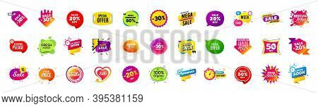 Best Discount Offer Banners. Price Deal Sale Stickers. Black Friday Special Offer Tags. Sale Bubble