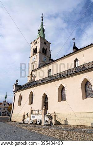 Church Of Saint Margaret In Kasperske Hory, Southwestern Bohemia, Czech Republic, Sunny Day, Plzen R