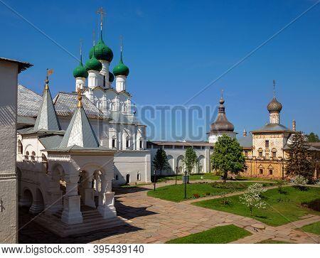 Bishops Court Of Rostov Kremlin, Church Of St. John The Theologian, Church Of Hodegetria And Red Cha
