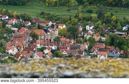 A Closer Look At Jena In Thuringia At Atumn