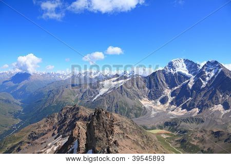 View From The Top Of Mount Cheget