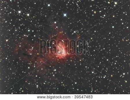Ngc1491 In Perseus