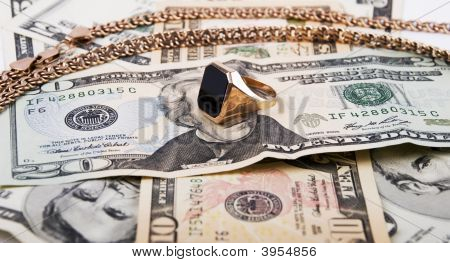 Golden Ring  And Money