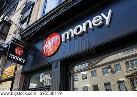 The Virgin Money Bank On The High Street In Oxford In The Uk, Taken On The 15th Of September 2020