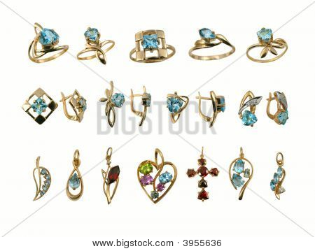 Assortment Of Jewel